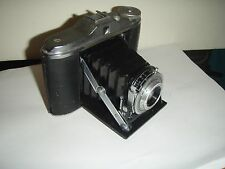 Vintage ANSCO SPEEDEX 4.5 BELLOWS FOLDING CAMERA 120 Film   1:4.5/85 Lens