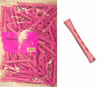 "Hair Perm Rods Non Slip 3"" Long (PINK) w/ elastic band 1 LB BAG  sale"