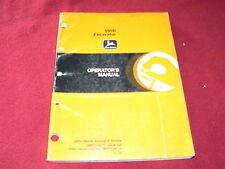 John Deere 595D Excavator Operator's Manual