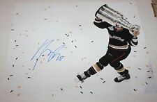 George Parros signed Ducks 11x14 photo COA