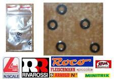 RIVAROSSI SET N.10 RONDELLE in PLASTICA mm.4 Dm. UNIVERSALI PER TUTTI I MARCHI