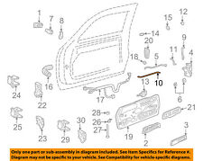 GM OEM Front Door-Lock Rod Left 15740529