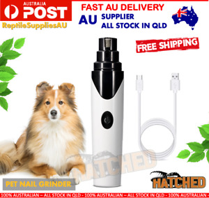 Pet Clippers Dog Cat Nail Claw Grooming Grinder Trimmer Dog Electric Nail File
