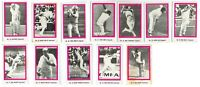 1974 SUNICRUST Ashes cricket cards - AUSTRALIA & ENGLAND - Pick the card VG-EXC