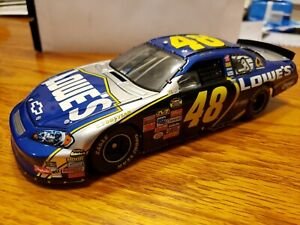 Jimmy Johnson Chevrolet 2007 Monte Carlo SS 48 Lowes Owners Elite 1:24 Scale Die