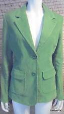 corduroy jacket blazer green 10