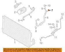 BMW OEM A/C AC Condenser/Compressor/Line-Suction Hose O-ring 64539284850