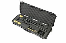 Black SKB Rifle Case with foam 3i-4214-AR & Pelican TSA- 1720 Lock