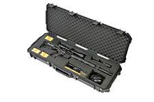 Black SKB Rifle Case with foam 3i-4214-AR & Pelican TSA- 1720 Lock