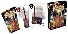 FENDER GUITAR Custom Shop - Playng Cards - CARTE DA GIOCO MAZZO POKER 52