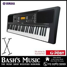 YAMAHA PSRE363 KEYBOARD - REPLACES PSRE353 - POWER SUPPLY + STAND + HEADPHONES