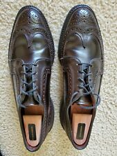 Allen Edmonds MacNeil Brown Shell cordovan 9D