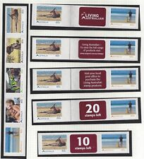 Australia 2011 Living Australian Self Adhesive Collectors Stamps Set