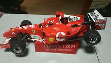 Ferrari F2004 MICHAEL SHUMAKER SCALA 1/8 DE AGOSTINI KYOSHO R/C A SCOPPIO