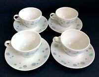 4 Mid Century Modern 1950s Riviera Casual by Caribe Cup & Saucer Set C141