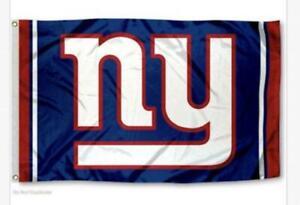 New York Giants 3x5 Flag Man Cave Football 3 x 5 Banner New USA Newyork Giant