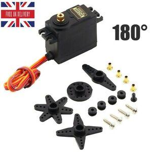 UK 13KG 15KG Servos Digital MG995 Servo Metal Gear for RC Helicopter Car Tool