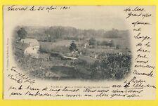 Sublime CPA Vue Très RARE 02 - Vallée du THON à ORIGNY en THIERACHE en 1901