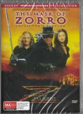 THE MASK OF ZORRO - CATHERINE ZETA JONES - NEW & SEALED DVD - FREE LOCAL POST