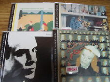 BRIAN ENO 4 JAPAN REPLICAS EXACT TO ORIGINAL LPS IN A RARE LIMITED OBI CD SET