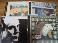 BRIAN ENO 4 JAPAN REPLICAS EXACT TO ORIGINAL LPS IN A RARE LIMITED OBI CD SET