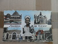 Souvenir de Vichy - La casino - L'hôtel de ville - Bourbonnaise - Source Hôpital