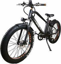 """Electric Bike Beach Snow Bicycle 26"""" 4.0 inch  500W Fat Tire Electric Bicycle"""