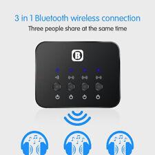 Portable Bluetooth Splitter Audio Sharing Fast Transmitter Multi-point Adapter J