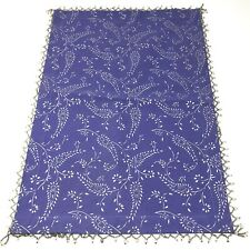 New listing World Market Nwt Purple Silver Paisley Beaded Cotton Placemats Set Of 4
