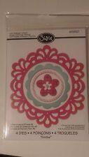 sizzix thinlits Frame Layer & Flower #2 4 die set  by Rachael Bright RRP £14.99