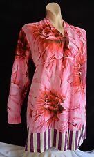 Coast Weber Ahaus extravagante Bluse Tunika L 40 42 NEU Pink