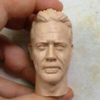 """1/6 Scale Blank Head Sculpt Negan The Walking Dead Unpainted Fit 12"""" Figure"""