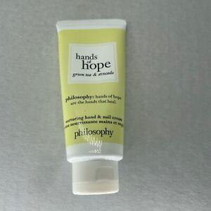 Philosophy Hand of Hope (Moisturizing Hand Cream) 1 fl oz Green tea & Avocado