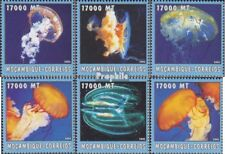 Mosambik 2584-2589 postfris MNH 2002 Wereld van Marine