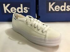 Keds Women's Triple Kick Canvas Sneaker White