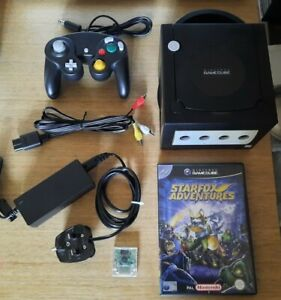 Nintendo GameCube Console & Game with HDMI Adaptor - Very Good Condition
