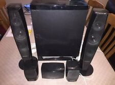 Panasonic SA-BTT370 3D Blu-Ray Home Cinema altavoces.