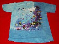 Nature Exotic Sea Turtle Fish Jellyfish Shirt Size XL Cotton FREE SHIPPING
