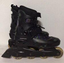 BladeRunner Pro 3800 Ss Black Rollerblades Inline Skates Adult Mens Size 9 Euc