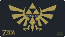 The Legend of Zelda Black & Gold ULTRA PRO PLAYMAT W/HEAVY DUTY TUB (Game) Magic