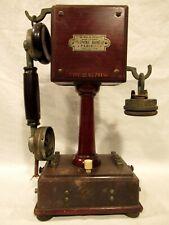 GRAMMONT EURIEULT ANCIEN TÉLÉPHONE A COLONNE TYPE 10  telefono phone