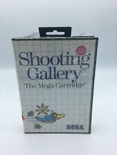 Shooting Gallery (Sega Master, 1987) New Complete