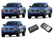 for Dodge Dakota 08-11 RGB Multi Color M7 LED Halo kit for Headlights