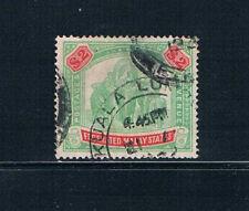 Federted Malay States - 1926 $2 Elephants - SC 74 [SG 75] USED 19