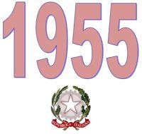 ITALIA Repubblica 1955 Singolo Annata Completa integri MNH ** Tutte le emissioni