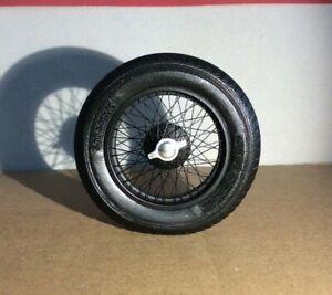 1/12th 4 hand laced wire wheels for ITALERI  ALFA ROMEO 8C Le Mans 1933 Transkit