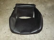 2002-2006 OEM Acura RSX DC5 front driver seat cushion lower leather cover blk FL