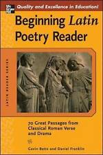 Poetry Paperback Textbooks in Latin