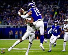 """Adam Thielen Minnesota Vikings Autographed 16"""" x 20"""" Catch vs. Saints Photograph"""