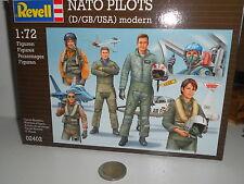 REVELL NATO PILOTS D GB USA MODERN SCALA 1/72 02402